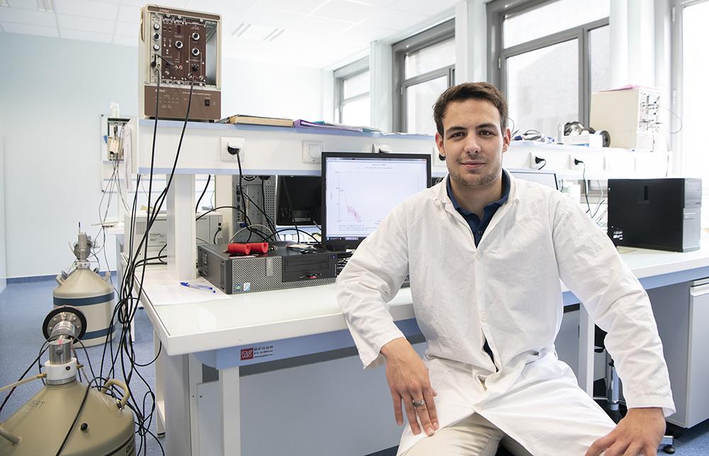 Antoine Chalandre, étudiant en Licence Pro RD2  null