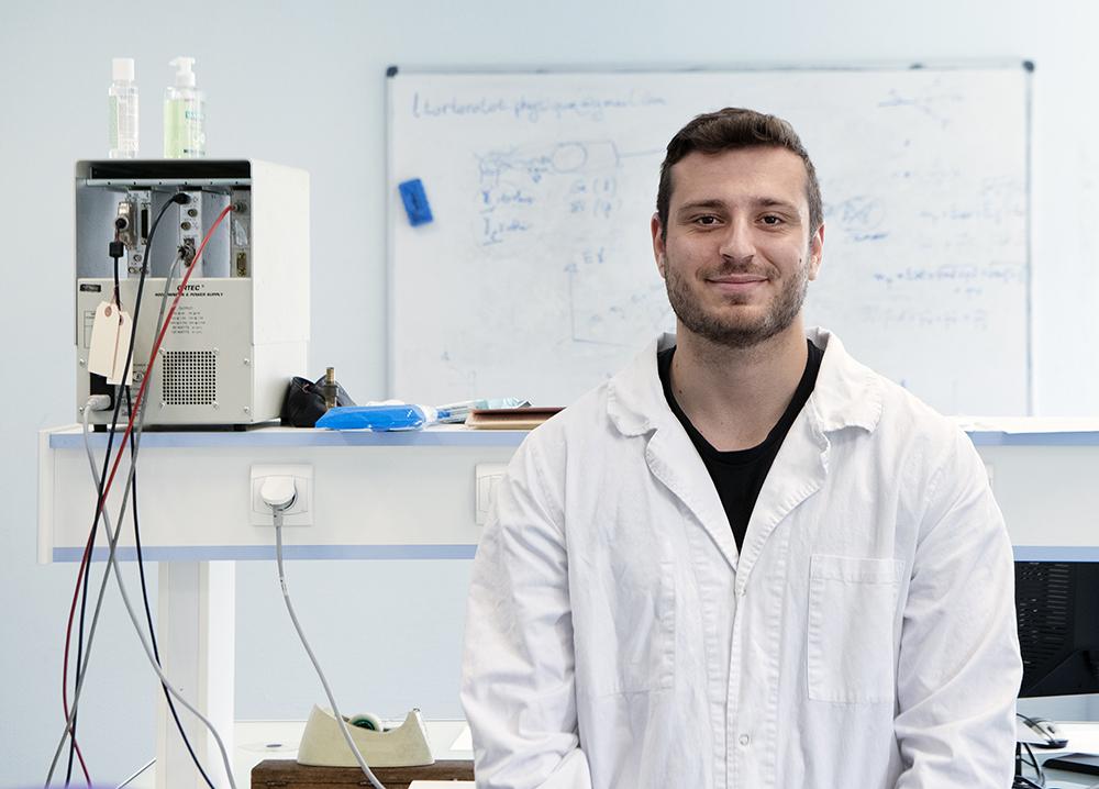 Arthur Courtial, étudiant en Licence Pro RD2
