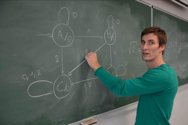 Boris Adamczewski (photo : S.Buthion, CNRS-DR7)
