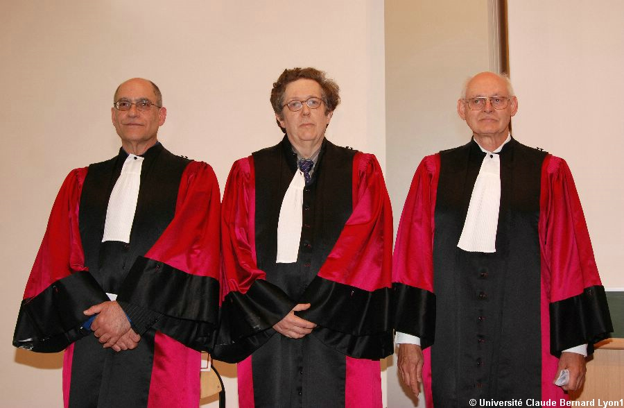 Doctorats Honoris Causa 2007 : Jay BASS, M. Grégory CHERLIN et M. David DILCHER