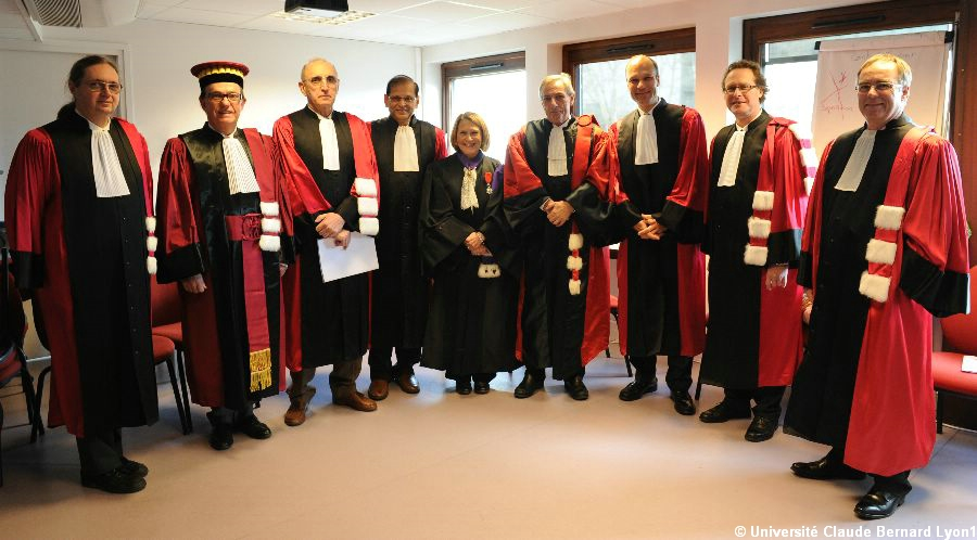 Doctorats Honoris Causa 2012 : Darius MORADPOUR et Arun S. MUJUMDAR