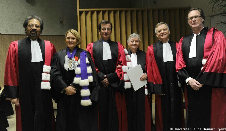 Doctorats Honoris Causa 2013 : Janina Legendziewicz et Tejinder. S. Virdee