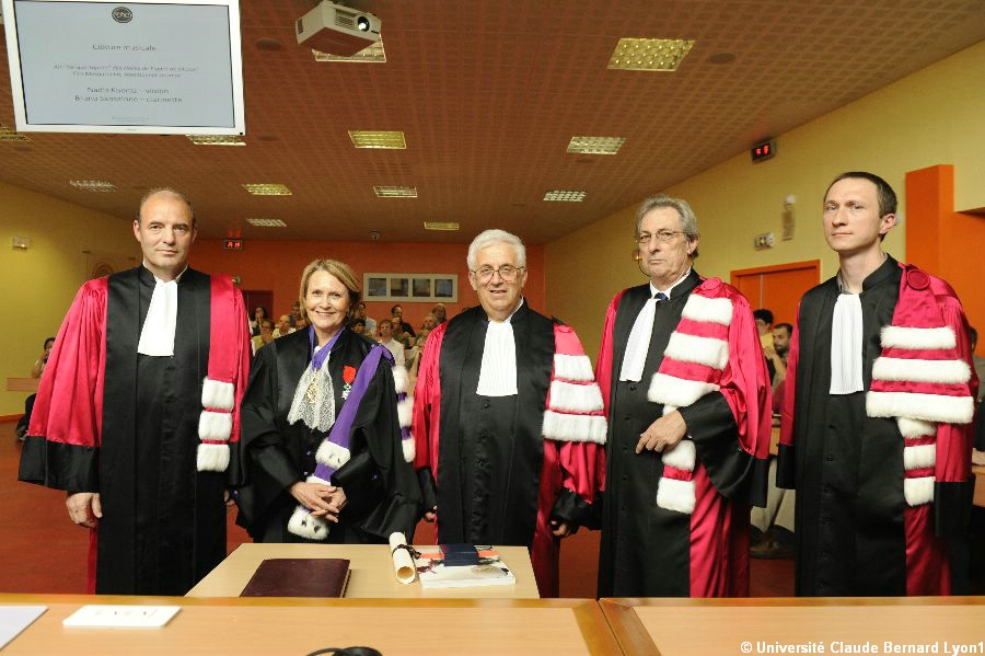 Doctorat Honoris Causa 2013 : Gregory Margulis