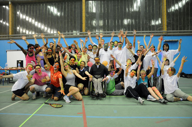 Etudiants au Handi Univ - UCBL ©Eric Le Roux