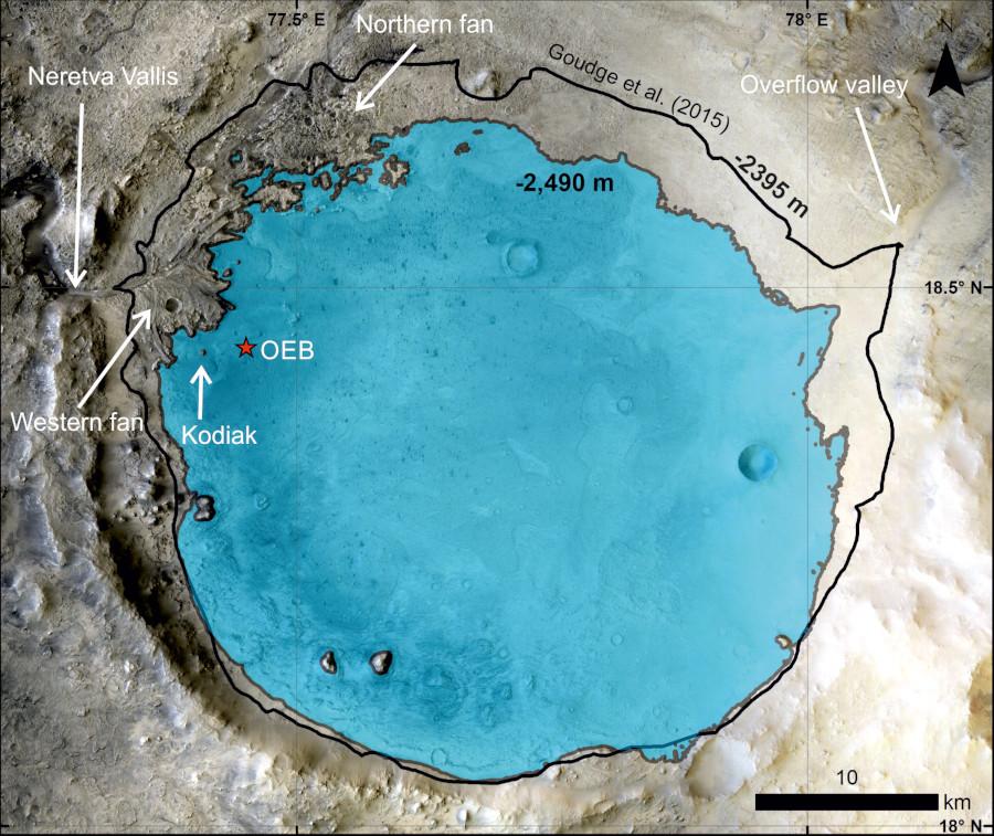 Cratère Jézéro