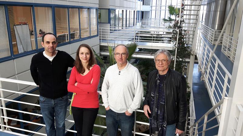 Fondateurs scientifiques de la société ENYO Pharma