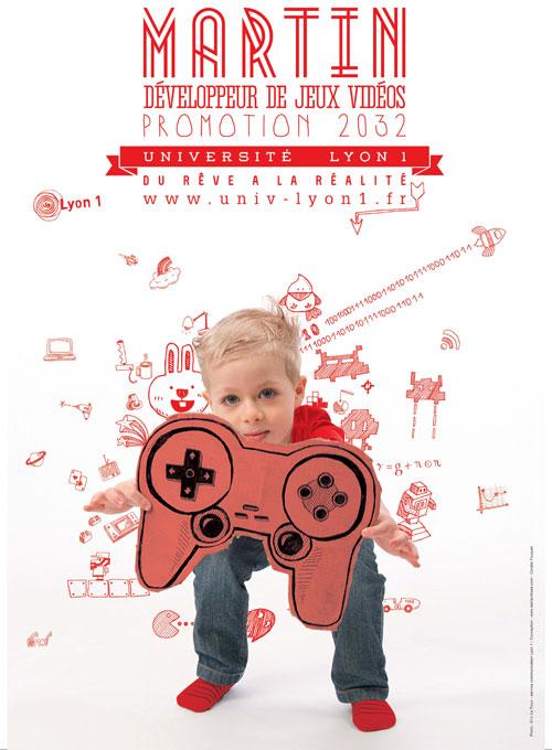 Martin : Développeur de jeux vidéos, promotion 2032
