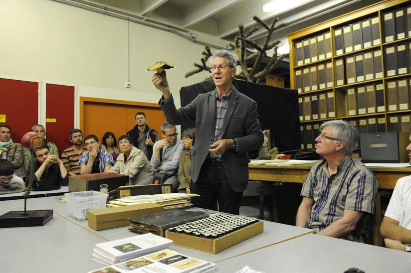 Collection de l'Herbier ouverte au public lors des journées du patrimoine