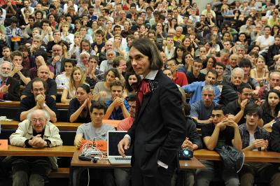 Conférence de Cédric Villani le jeudi 18 octobre 2012 sur la vie et l'oeuvre de Poincaré